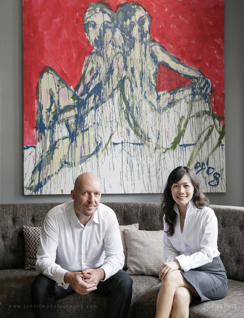 Top 10 Portrait Photographers in Singapore, professional corporate branding headshot