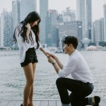Korean Couple Surprise Proposal in Singapore