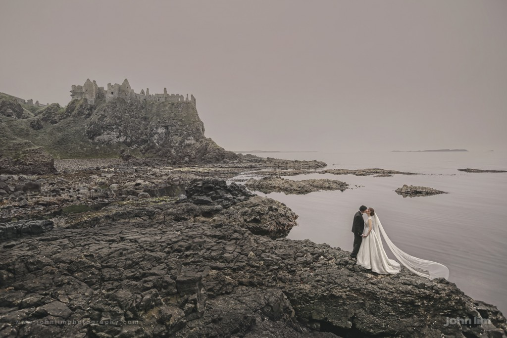 john lim photography, overseas pre wedding photography, ireland, north ireland, singapore photographer, UK, dunluce castle