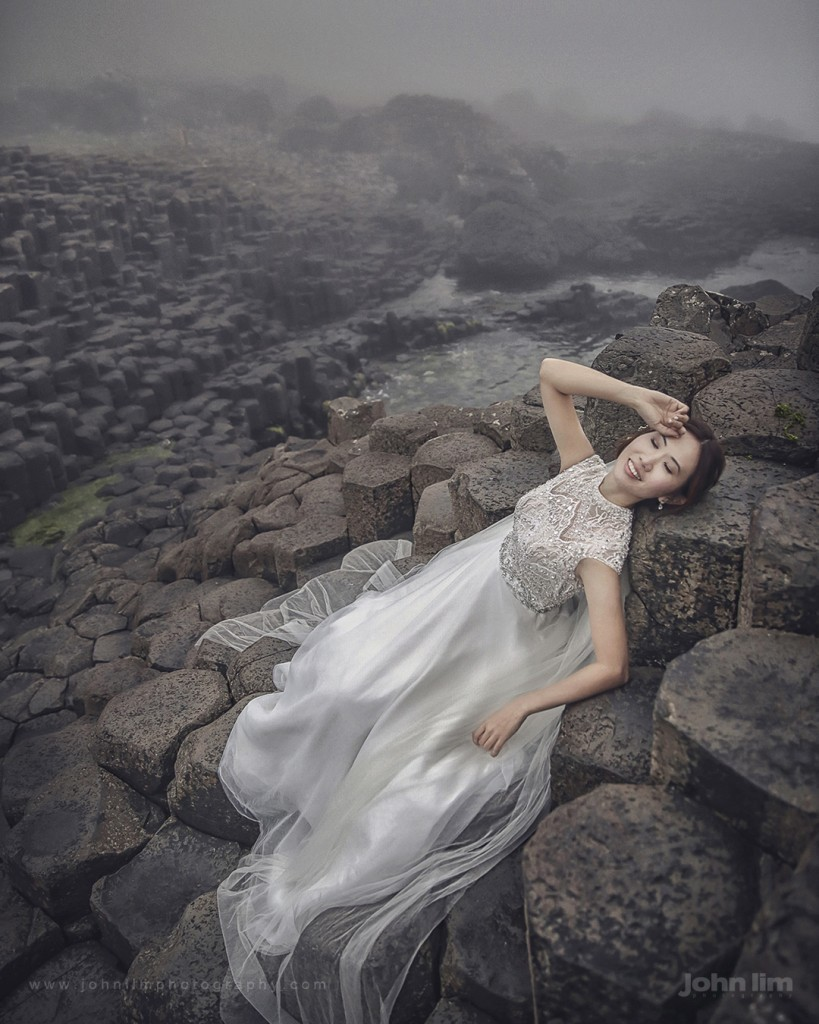 john lim photography, overseas pre wedding photography, ireland, north ireland, singapore photographer, UK, giant's causeway